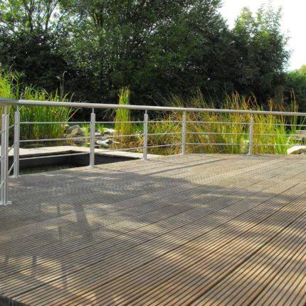 Geländer aus Stahl Terrasse Witten