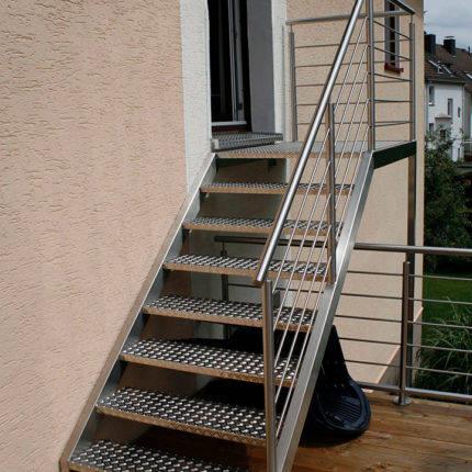Treppen Garten Balkon Stahl Witten